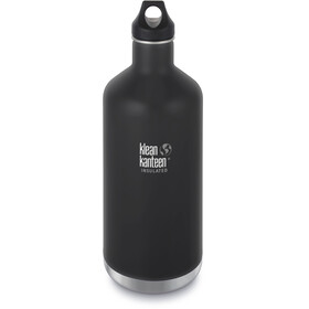 Klean Kanteen Classic Vacuum Insulated Gourde Bouchon boucle 1900ml, shale black matt